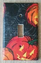 Pumpkin Light Switch Cover outlet wall home Halloween seasonal Jackolant... - $7.94