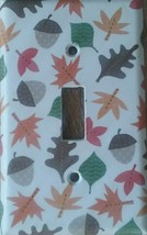 Fall Decor Light Switch Plate Cover outlet wall home trees nature leaves... - $7.65