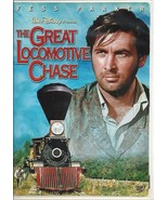 The Great Locomotive Chase - Fess Parker stars - Disney Widescreen DVD - $8.86