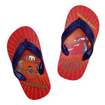 DISNEY CARS Flip Flops w/Optional Sunglasses Beach Sandals Toddler's Siz... - $7.91+