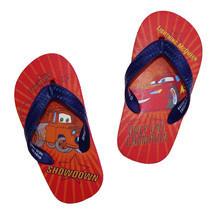 DISNEY CARS Flip Flops w/Optional Sunglasses Beach Sandals Toddler's Size 9/10 - $7.91+