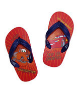 DISNEY CARS Flip Flops w/Optional Sunglasses Beach Sandals Toddler's Siz... - ₹544.34 INR+