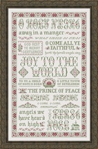 Hymns of Christmas cross stitch chart My Big To... - $18.00