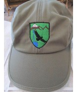 Marco Vitaly Green Micro Mesh w/ Vulture Mountain Logo Adj Runner Cap Hat! - $28.98