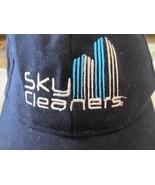 T.O.P. Sky Cleaners w/ Skyscrapers Dark Blue w/ White Baseball Cap Hat! - $27.04