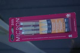 Sakura Micron 3 Pack Fine Point Multi-tip Pen S... - $7.99