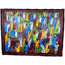 Haitian Acrylic Painting on Canvas - Haiti - $200.00