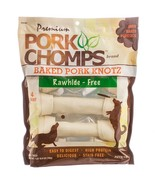 Premium Pork Chomps Baked Pork Knotz Dog Treats... - $22.73
