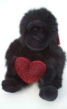 Russ Heart Throbs Gorilla Soft Plush Stuffed Animal Doll Toy Valentines ... - $4.45