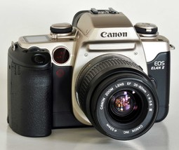 Students: Canon Eos Elan Ii With Af Ef 35 80mm F4 5.6 Iii Lens Nice ! - $79.00