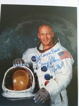 Buzz Aldrin Hand-Signed Autograph 8x10 With Lifetime Guarantee - $240.00