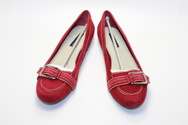 Tommy Hilfiger - Womens Red - Flats Loafers Slippers - New in Box - $79.20