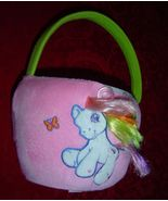 My Little Pony Rainbow Dash Plush Easter Basket Spring Basket - $10.00