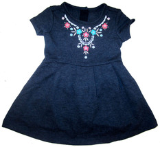 Gymboree Blue Dress baby girl's sz 12-18 months embroidered bodice NEW - $15.00