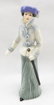 Vintage Goebel Porcelain Fashion Lady Figurine Strolling on the Avenue G... - $65.00