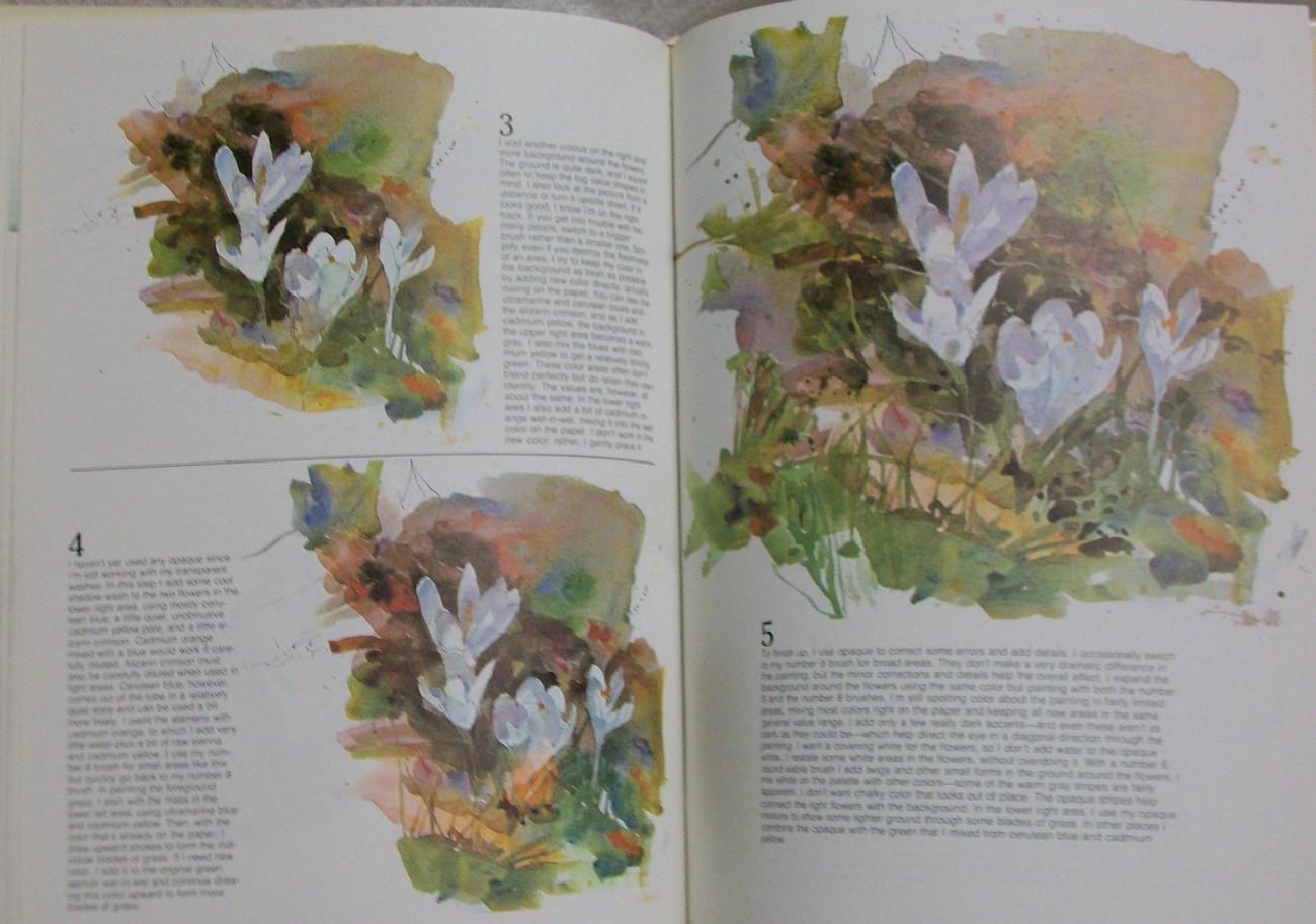 Flower Painting in Watercolor by Reid Charles