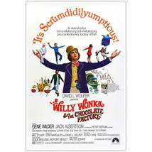 Willy Wonka and the Chocolate Factory Movie Poster - £11.48 GBP