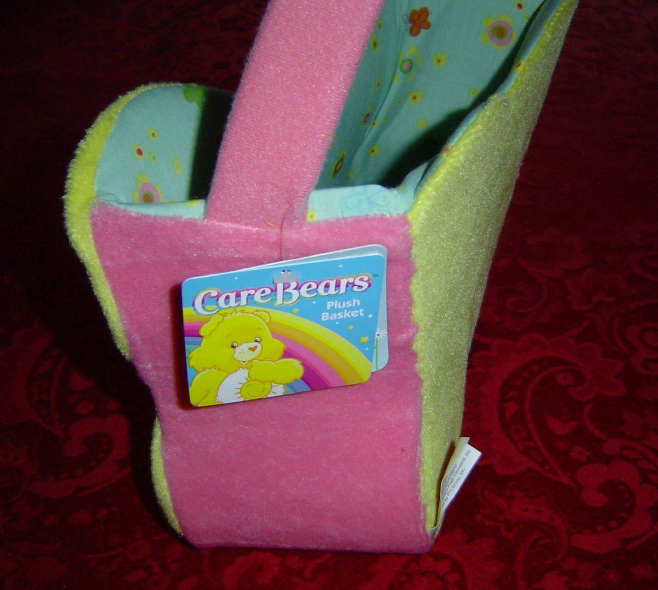 Care Bears Plush Easter Basket Spring Basket flower shaped
