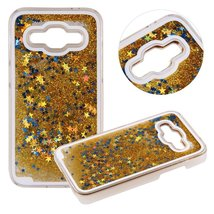 Galaxy A510 2016 Case,Creative Design Dynamic Flowing Bling Glitter Quicksand... - $9.89