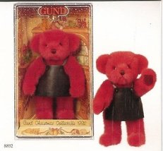 Gund 1992 Collector's Christmas Yulebeary Boxed... - $10.77