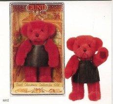 Gund 1992 Collector's Christmas Yulebeary Boxed Bear - $10.77