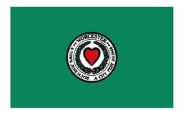 Worcester Massachusetts Flag Sticker / Decal F673 - $1.45+
