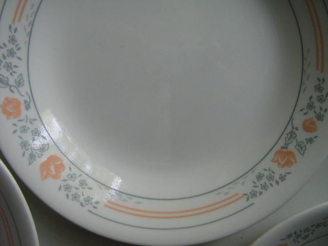 "Corelle ""Apricot Grove"" Bread & Butter / Dessert Plates (6) - Active Pattern"