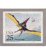 USPS POSTCARD - Dinosaurs Commemorative Puzzle series -PTERANODON -FREE ... - $10.00