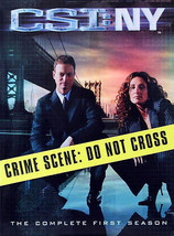 CSI: NY - The Complete First  Season [ Discs] DVD Region 1 Brand New Sealed - $21.92