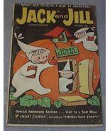 Vintage Jack & Jill Magazine October 1962 Halloween - $5.00