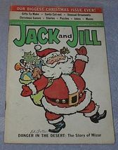 Vintage Jack & Jill Magazine December 1964 Christmas Santa  - $5.00