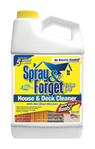 Spray & Forget  House and Deck Cleaning Solution  64 oz. - $29.99