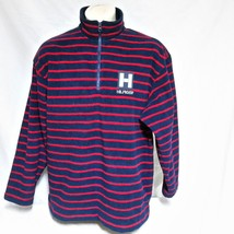 VTG Tommy Hilfiger Fleece Pullover Jacket Nautical Spell Out Ski 90s Spo... - $59.99