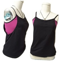 JOIS Retreat Bra Top seamless Yoga Tank Top Exercise Shirt Sz Large - $9.00