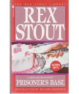 Rex Stout Prisoner's Base Nero Wolf Mystery Suspense Thriller - $6.00