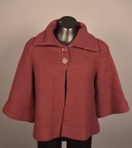 Apostrophe Womens Sweater Top sz SM PLUM COLOR - $10.36
