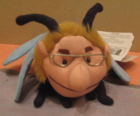 INFAMOUS MEANIES II - JERRY STINGER DOLL - JERRY SPRINGER  - 1998