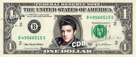 ELVIS PRESLEY on a REAL Dollar Bill Cash Money Collectible Celebrity Mem... - $6.66