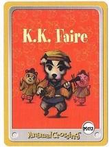 K.K. Faire M02 Animal Crossing Town Tune Music E-Reader Card Nintendo GBA - $9.89