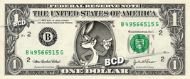 BUGS BUNNY on REAL Dollar Bill Cash Money Memorabilia Collectible Celebr... - $5.55