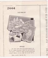Design 2444 Mail Order Crochet Pattern Filet Ch... - $5.99