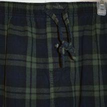 Merona Blue Green Plaid Pajama Lounge Sleepwear PJ Pants Men's Size L 36-38 image 3