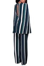 European Style Spliced Sexy Jumpsuits (Blue/Green) - $42.95