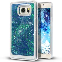 Liquid Case for Samsung Galaxy S7,Creative Design Floating Bling Glitter... - $9.88