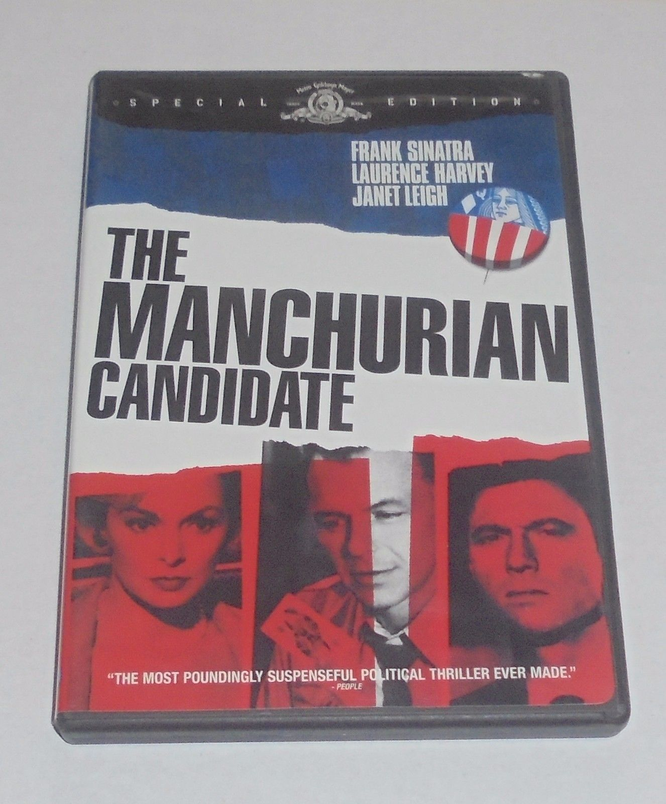 The Manchurian Candidate (DVD Special Edition) Frank Sinatra 1960s Classic Movie