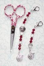 Sawyer Gingher Long Scissor Fob cross stitch needlework My Big Toe Designs - $18.00