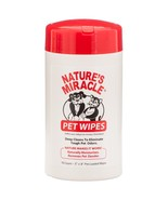 Nature's Miracle Pet Wipes for Dogs and Cats - $5.88