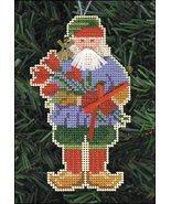 Sinter Klaas Olde Time Santa Ornament kit christmas perforated paper cro... - $5.40