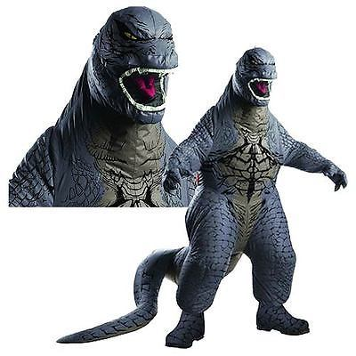 Adult Inflatable Godzilla Costume Japanese Movie Monster Halloween Costume