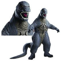 Adult Inflatable Godzilla Costume Japanese Movie Monster Halloween Costume - £82.17 GBP
